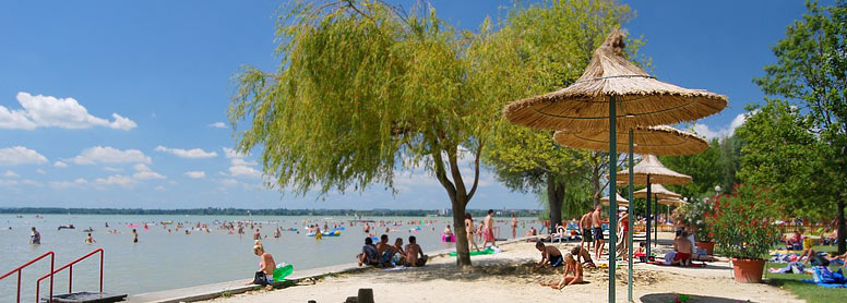 Plattensee Baden Str 228 Nde Strandkultur Badeparadies Am